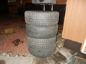 FOR SALE FOUR MICHELIN X-ICE WINTER TIRES!!