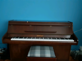 Bentley Upright Piano With Stool