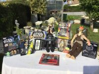 STAR WARS A MARVELLOUS VINTAGE COLLECTION OF 10 GREAT COLLECTORS ITEMS! FROM THE TO LATE 1990's