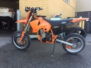 2003 ktm 525 exc supermoto! Reduced to sell!!