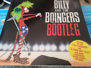 BILLY AND THE BOINGERS BOOTLEG 1987