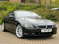 2004 04 BMW 6 Series 4.4 645Ci 2dr WITH RED LEATHER+F&R PARKING SENSORS