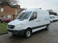 2013 Mercedes Sprinter 2.1TD 313CDI MWB HIGH ROOF. FINANCE FROM £173 PER MONTH