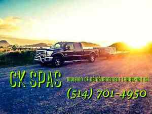 Spa transportation + Services