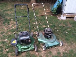 Lawnmowers for Parts or Repair + Parts