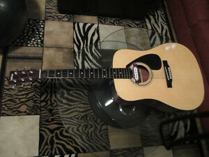 Acoustic/Electric guitar by yamaha