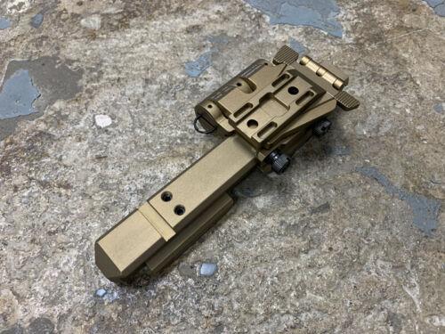 SOTAC Wilcox Type Side Flip G33 Mount Sets (Right, FDE) JQ-029-R-FDE