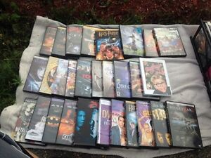 DVDs  1$ each or all for 40$