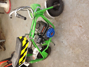 Vintage minibike all redone