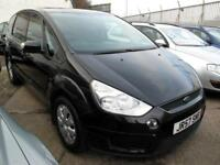 2007 57 Ford S-MAX 2.0TDCi (140ps)LX MPV 7 Seats Parking Sensors, Privacy Glass