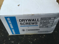 Box of Drywall Screws