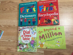 Childrens Encyclopedia and Math Learning Books