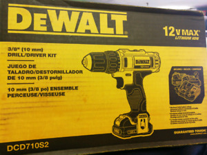 Dewalt dcd710s2 for sale