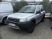 Land Rover Freelander Td4 GS 2002 silver