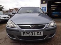Vauxhall/Opel Corsa 1.0i 12v 2004 Active NEW MOT DRIVE AWAY TODAY!