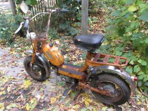 Cyclomoteur  vintage Garelli