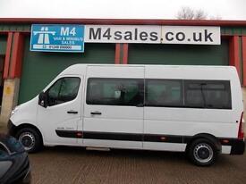 Renault Master 17st minibus,PSV,Tacho. Low Miles