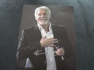 Kenny Rodgers- Signed 8x10