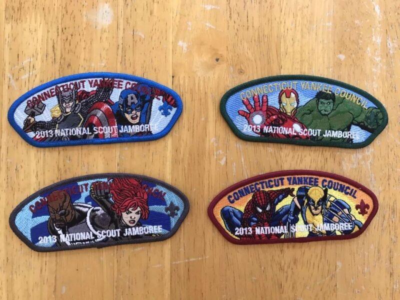 Connecticut Yankee Council 2013 National Scout Jamboree - marvel comics 2017