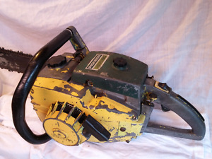 Wanted: Old chainsaws, Pioneer etc.