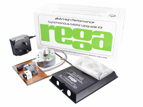 rega 24v Hi-Performance Motor Upgrade-Kit improves sound ! AUTHORIZED-DEALER
