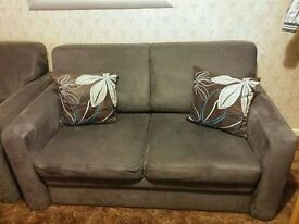 Lovely sofa bed and armchair