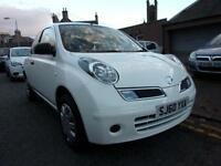 NISSAN MICRA 1.2 visia 2010 Petrol Manual in White