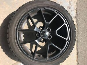 MERCEDES C CLASS MOUNTED WINTER ICE RADIAL SNOW TIRES