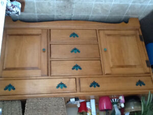 Vintage Vilas Solid Maple Buffet
