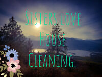 SISTERS LOVE HOUSE CLEANING