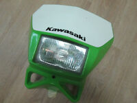 Headlight, complete with Shroud for KLX-400