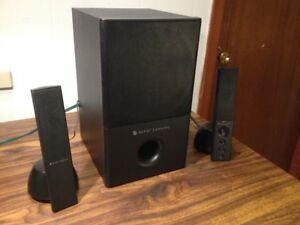 Altec Lansing VS-4121 Desk Top Stereo