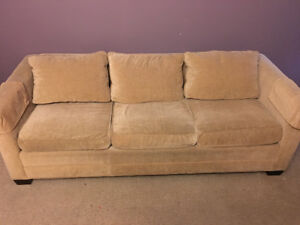 OBO Barrymore couch, no pets no smoke. Moving can't take it