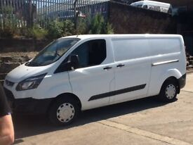 Ford transit custom lwb 14reg no vat