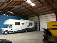 INDOOR VEHICLE STORAGE, Rv's, Cars, Trailers, Boats, ATV's, Camp