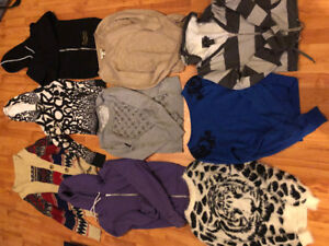 Womens sweaters take all 9 for only $15 size small