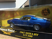 Ford Mustang GT 500 1967 diecast 1/18 die cast
