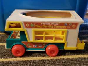 Vintage 1972 Fisher Price Play Family Camper