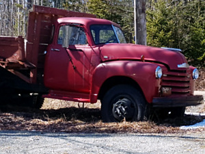 1953 Chevy C1700 Dually Dump