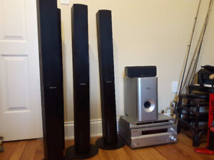 Pioneer SX 316s Audio Multi-channel Home Theater System