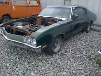 1971 Buick Skylark Coupe FOR PARTS. DOES NOT RUN HOLE FRAME