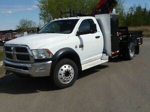 Dodge 5500 Service Picker truck 2012