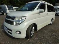 Nissan Elgrand Highway Star E51 Pop Top Camper Van, 4 Berth 4x4