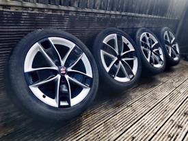 """17"""" alloy wheels 5x112"""