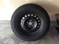 Goodyear Ultra Ice Grip WRT Snowtires with rims for sale