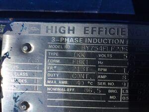 7.5hp 3 phase motors London Ontario image 6