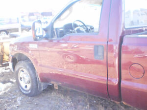 2005 ford f250 4x4 part out