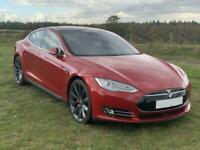 2015 Tesla Model S P85D, Insane +, Free Scharging, Autopilot Saloon Electric Aut