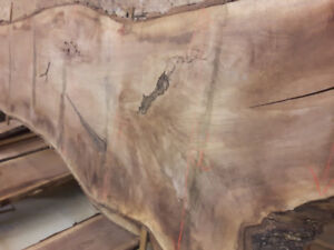 Hardwood  Slabs lumber kiln dried walnut maple ash barn board