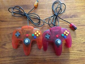 N64 controllers